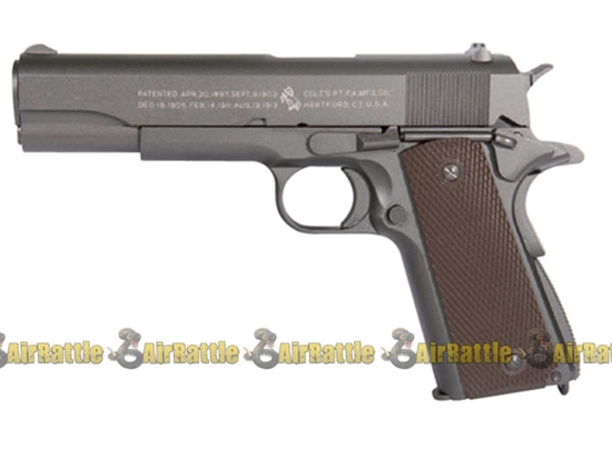KWC COLT Full Metal M1911 WWII CO2 Blowback Pistol