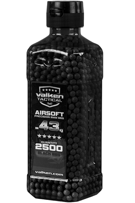 57278 Valken Tactical .43g Heavyweight 6mm Precision Sniper Airsoft BBs (2500)