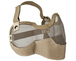 Valken Tactical 3G Wire Mesh Airsoft Face Mask ( Tan )