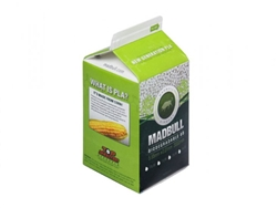 MadBull .20g PLA Biodegradable (3000) Airsoft BBs In Milk Carton