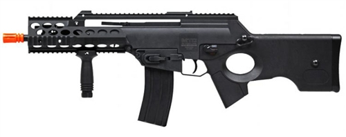 ECHO1 Modular Tactical Carbine 3 Master Blaster AEG Airsoft Gun Metal RIS Tactical Rails Extra Mag Included