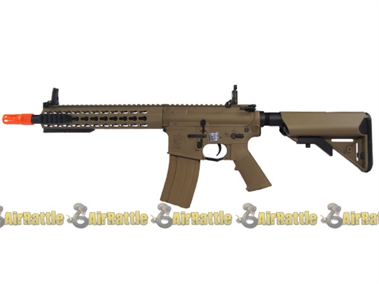 JP-99 Echo1 Knights Armament SR-16E3 CQB MOD2 KeyMod AEG Tan