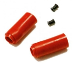 Madbull Upgrade Shark Soft Hopup Bucking ( Red ) w/ Fishbone Spacers for Metal Gearbox Airsoft AEG Gun
