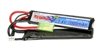 31599 Tenergy 7.4V 1000mAh 20c LiPo Airsoft Battery