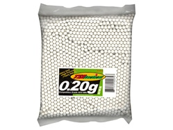 2000 .20g TSD Tactical 6mm .20 Seamless Precision Airsoft BBs - Competition Grade Rounds BB's