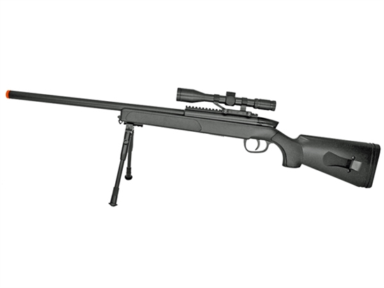 "415 FPS ZM51 Airsoft Bolt Action Sniper Rifle With Scope & Bi-Pod ""Included"""