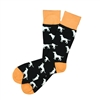 The School of Sock - The Black and Orange Dog Charity Sock