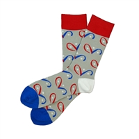 Sock 101 - The A.D.V.I.A. (America's Disable Veterans in Action) Charity Sock