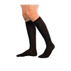 Sigvaris Mens Casual Cotton Travel Socks, SIZE A Black