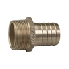 Perko 2-1/2 inch Pipe To Hose Adapter Straight Bronze 0076010PLB