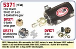 Arco OMC Starter For 50-60 HP 2 Cylinder. 5371