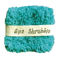 Tease Me Turquoise Spa Shrubbie by Janey Lynn's Designs