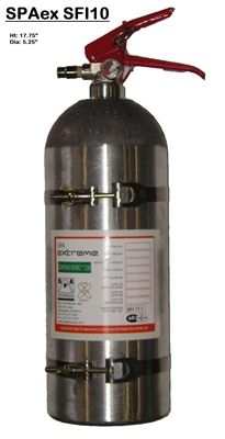 SPA Technique Extreme 10-lb Novec Onboard Fire Suppression System