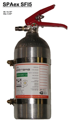 SPA Technique Extreme 5-lb Novec Onboard Fire Suppression System
