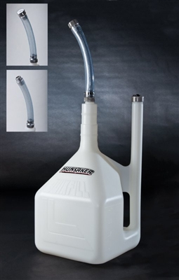 Hunsaker 5-Gallon QuikFill DumpCan w/ Factory Billet Hose Kit