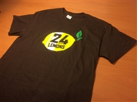 Lemons T-Shirt: Logo Brown