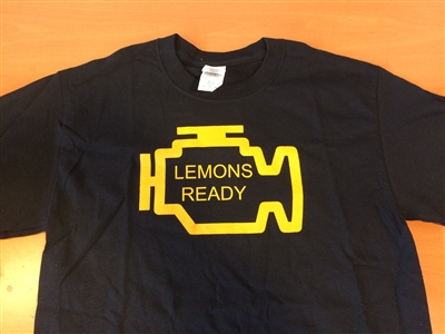 Lemons T-Shirt: Check Engine