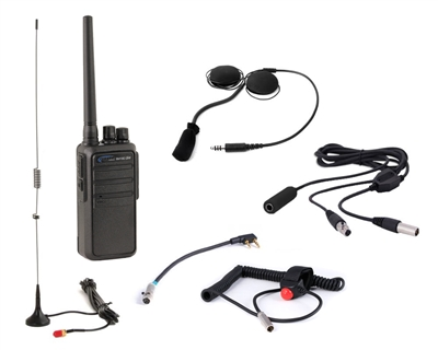 Rugged Race Radios: Driver Only 5-Watt Heavy Duty Kit