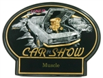Burst Thru Car Show (Muscle) 7.25 inches