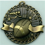 Fotball Medal Gold 2 inches