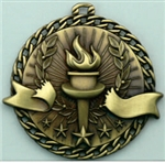 Victory Medal Gold 2 inches