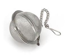 "Tea Infuser 1.75"" SS mesh ball"