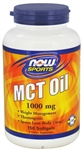 NOW Foods MCT Oil 1,000mg (150 Softgels)
