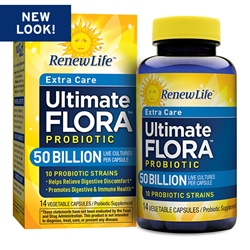Ultimate Flora Extra Care 50 Billion (60 Count)