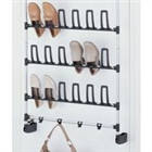 Over the door show rack with hook