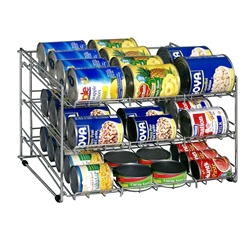 Canned goods rack