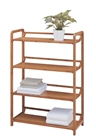 Lohas Bamboo 4 Tier Shelf