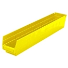 "12 Akro Shelf Bins - 23-5/8""L x 4-1/8""W x 4""H"