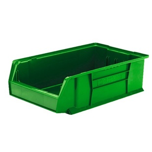 "6 Akro Genuine Stacking Bins - 18""d x 11""w x 10""h"