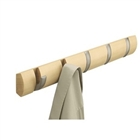 Umbra 5 Hook Flip Coat Rack - espresso, white, natural, or black