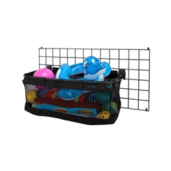 Mesh Sports Basket - Black