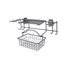 Garden Rack with Basket - Granite