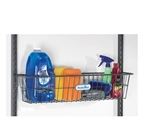 "freedomRail 30"" Work Basket in granite epoxy coated steel"