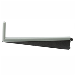 "freedomRail Bracket Insert for 16"" Ventilated Shelf Bracket in Gray"