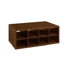 Organized Living freedomRail Double Hang O-Box Cubby