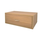 Organized Living freedomRail Big Double Hang O-Box 1 Drawer