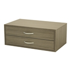 Organized Living freedomRail Big Double Hang O-Box 2 Drawer