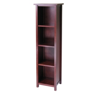 Milan 5-Tier Tall Storage Shelf or Bookcase