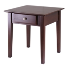 Rochester end table with drawer