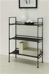 Ebonize 3 Tier Shelf in espresso