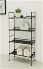 Ebonize 4 Tier Shelf for display