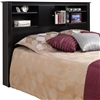 Kallisto Bookcase Headboard with Doors