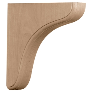 "Eaton Wood Bracket 7.5""d"