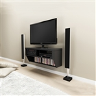"Wall mounted TV console 42""w"