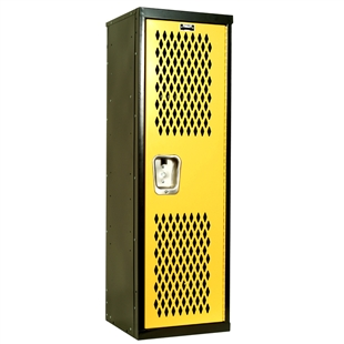 Black and Yellow Home Team Locker