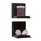 Wall sconce shelf